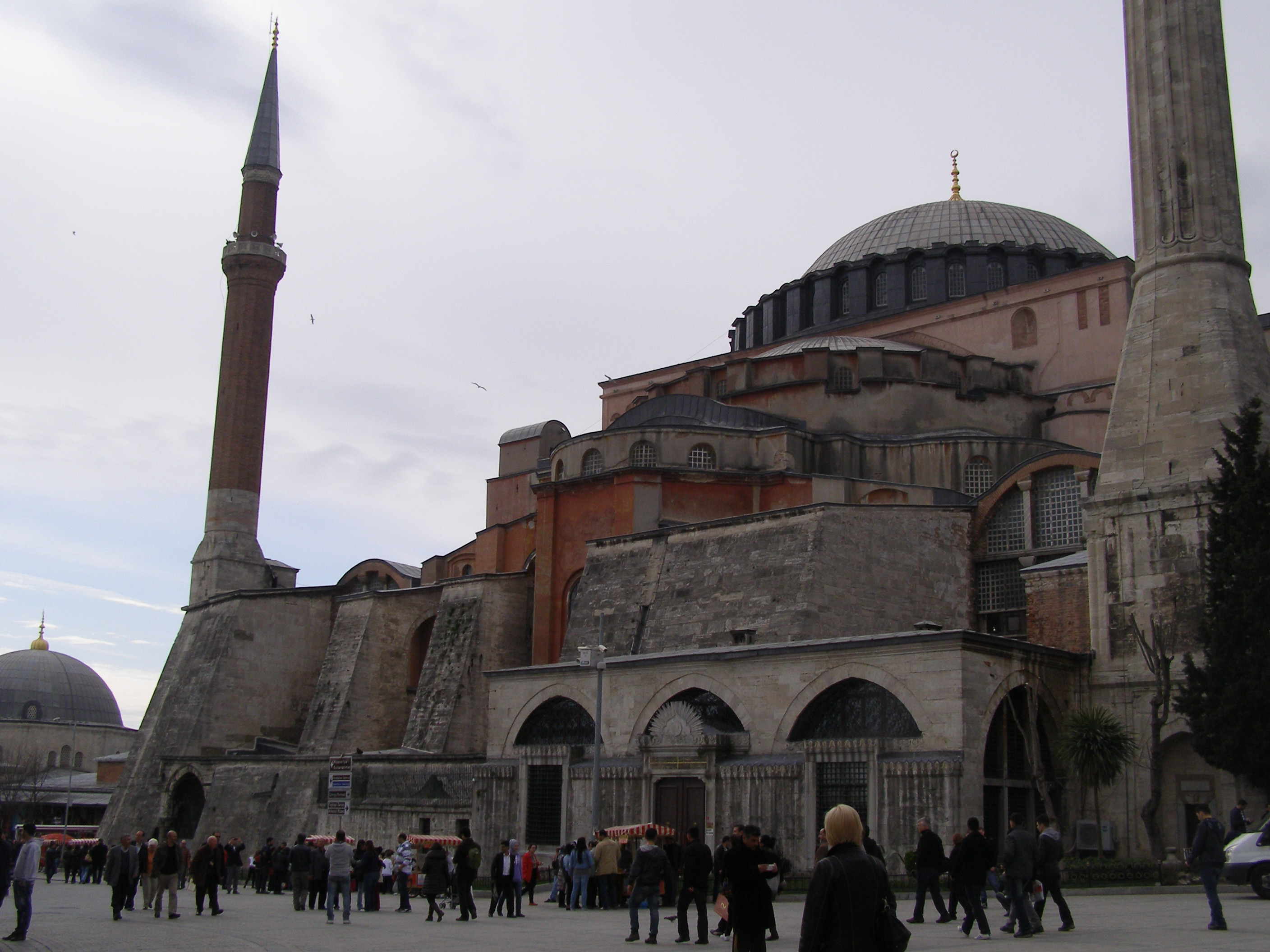 Hagia Sophia, the eighth wonder of the world is a World Heritage site since 1985  It was built in the period (527-565) under the order of Emperor Justinianos.  It was used as a church for 916 years till conquest of Istanbul by Ottomans. In this period Hagia Sophia was converted into the mosque and was used as a mosque for 482 years. In 1935 in the period of Turkish Repuplic it was converted into a museum in 1935.  Hagia Sophia is open for visit every day except Mondays. Winter visiting hours are 09.00am to 17.00pm Summer visiting hours are 09.00am and 19.00pm